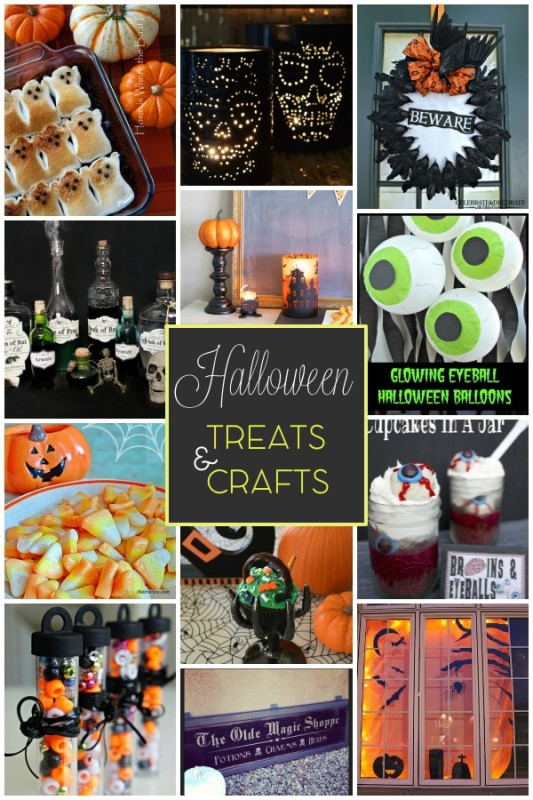 Halloween Link Party Features #2