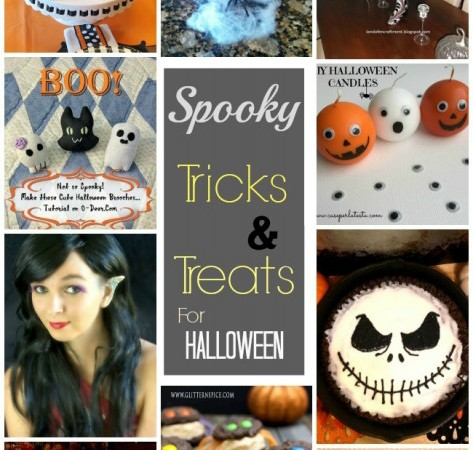 Halloween Spooktacular Link Party #4