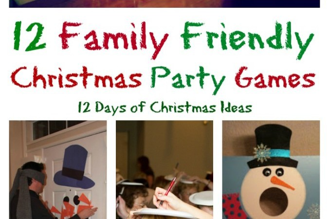 12 Days of Christmas – 12 Family Friendly Party Games