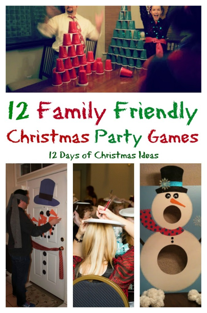 12 family friendly christmas games and 12 days of christmas ideasintelligentdomesticationscom - Family Games To Play At Christmas