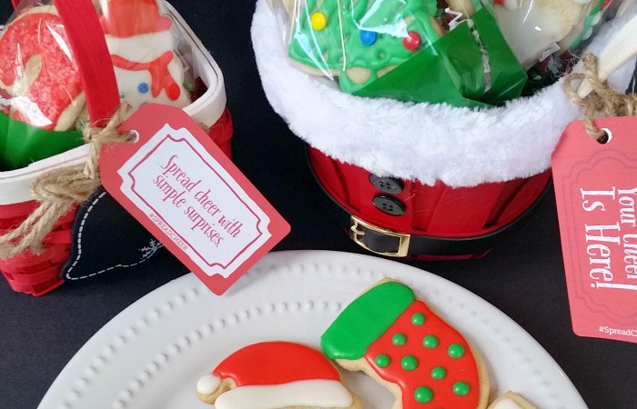 Spread Cheer – Holiday Cookie Gift Baskets + Giveaway!