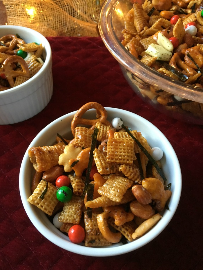 Sweet Asian Holiday Snack Chex Mix Giveaway