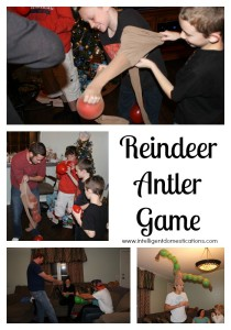 The reindeer antler game