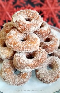 Easy Cinnamon Doughnuts
