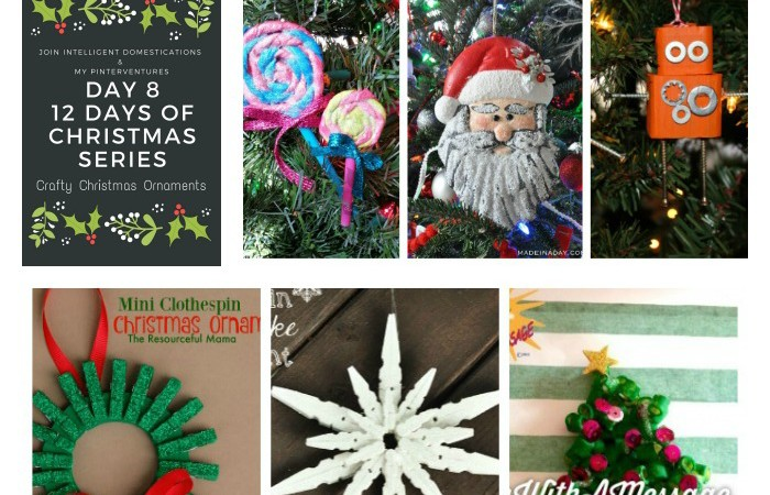 12 days of christmas crafty christmas ornaments - 12 Days Of Christmas Decorations