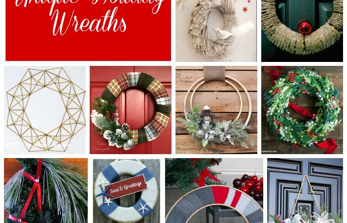 12 Days of Christmas – 12 Unique Holiday Wreaths