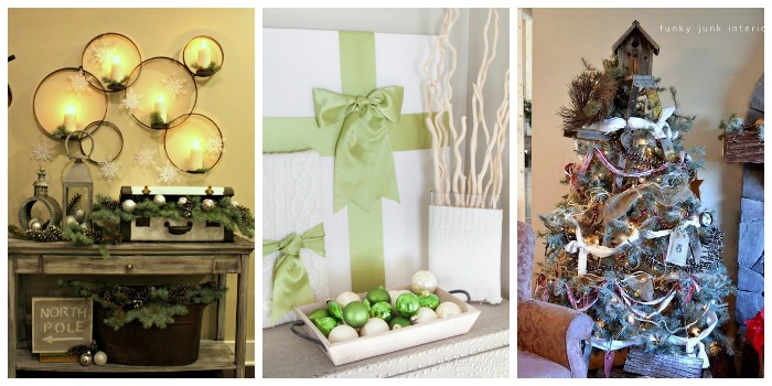 12 Days of Christmas - Inspirational Holiday Home Tours 1