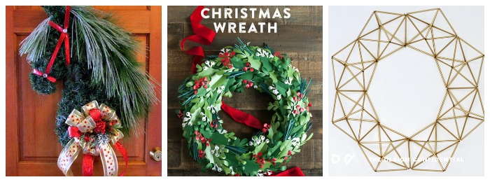 12 unique holiday wreaths 2