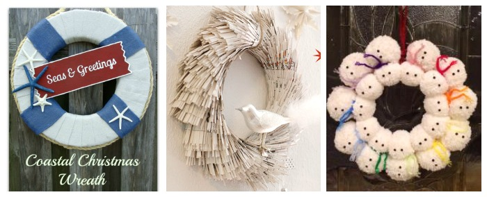 12 Unique Holiday Wreaths 3
