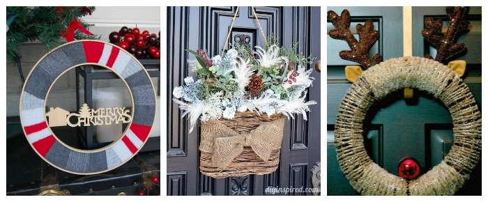 12 Unique holiday wreaths 4