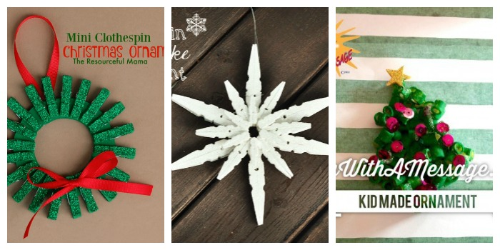 Crafty Christmas Ornaments - Kids