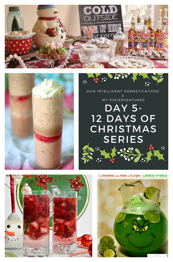 12 Days of Christmas - Christmas Beverage Recipes