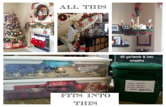 Space & Waste Saving Christmas Decoration Storage Tips