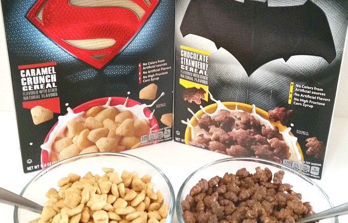General Mills - Superman™ Caramel Crunch and Batman™ Chocolate Strawberry cereals