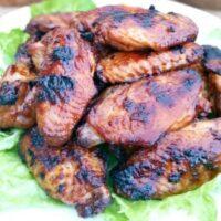 3-ingredient chicken wings marinade