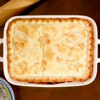 Chicken Pot Pie - Comfort Food & Large Family Style Meal