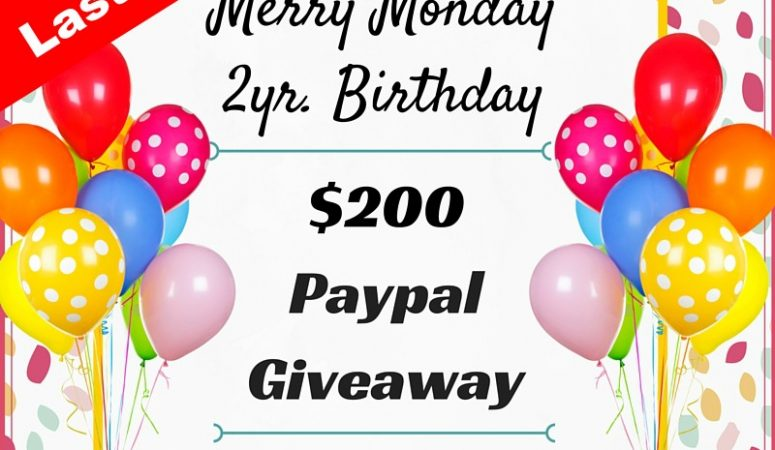 Merry Monday Link Party Giveaway