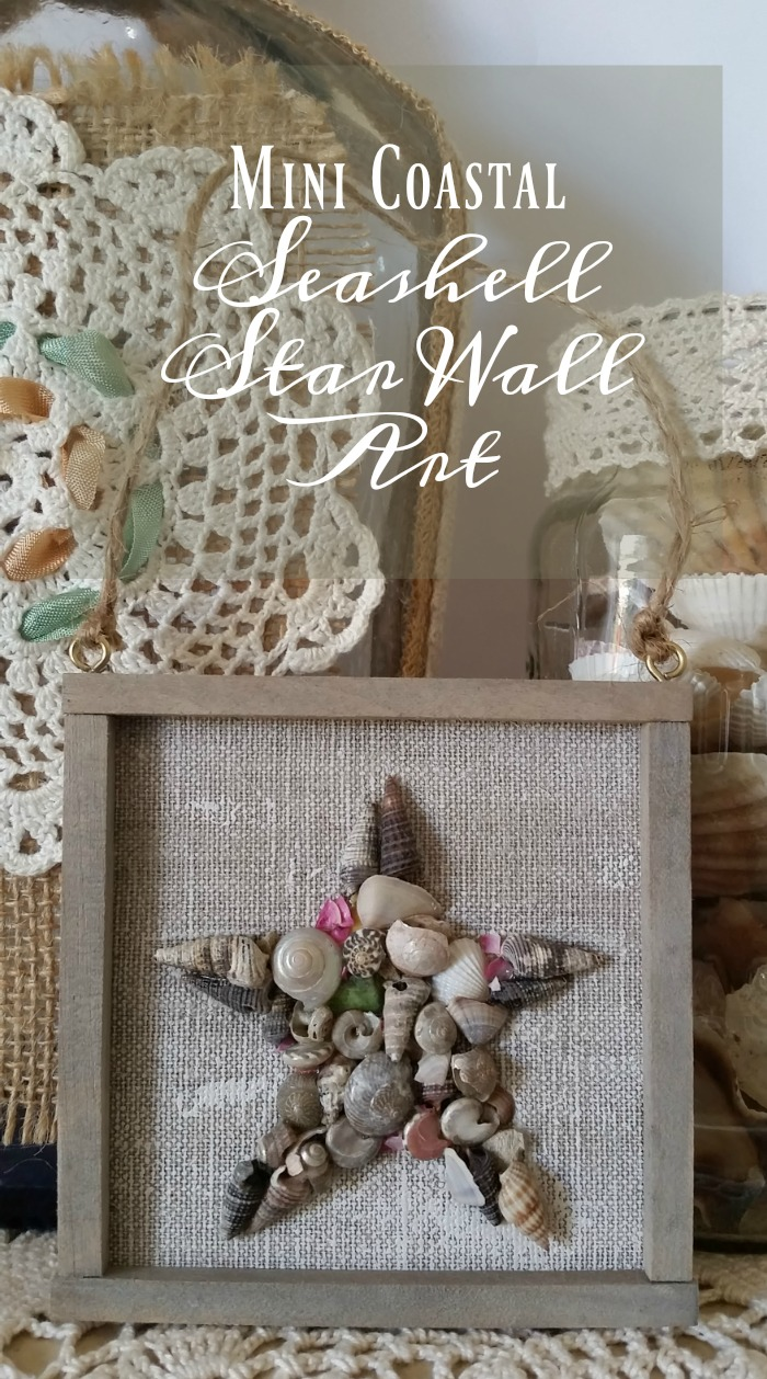 Mini Coastal Seashell Star Wall Art