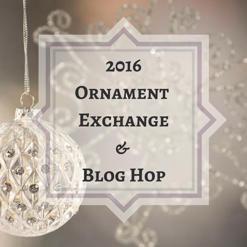 2016 Ornament Exchange & Blog Hop