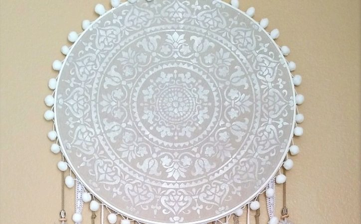 Giant Prosperity DIY Mandala Dream Catcher