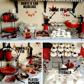 Zombie Fun – Easy DIY Terminus Walking Dead Party