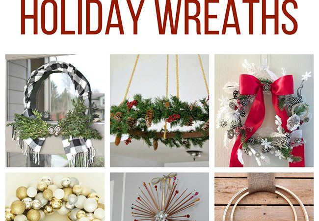 12 Festive and Creative Christmas Wreaths