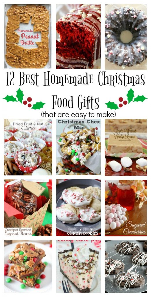 Homemade Edible Christmas Gifts • Made in a Day