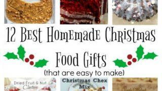 12 Days of Christmas Ideas - Best Homemade Christmas Food Gifts