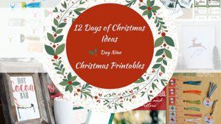 12 Days of Christmas Ideas - FREE Christmas Printables