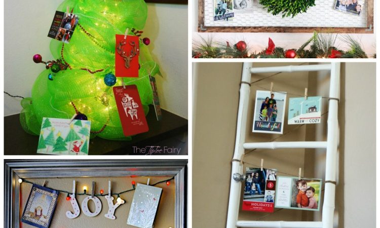 DIY Christmas Card Displays