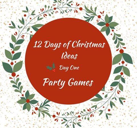 12 Days of Crristmas Ideas - Fun Christmas Party Games