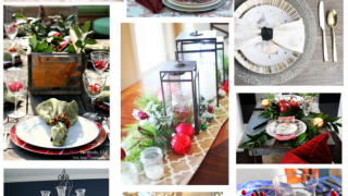 12 Days of Christmas Ideas - Christmas Tablescapes for Every Style