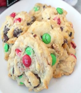 Christmas Candy Cookies Recipe
