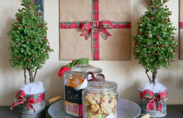 Decorate with indoor plants