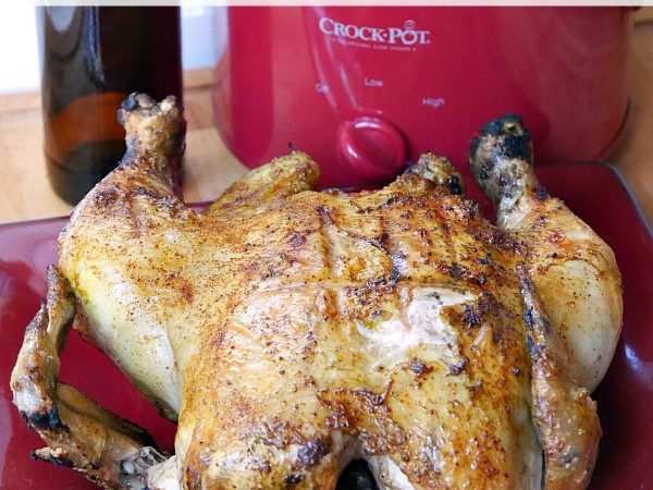 Crock Pot Beer Can Chicken