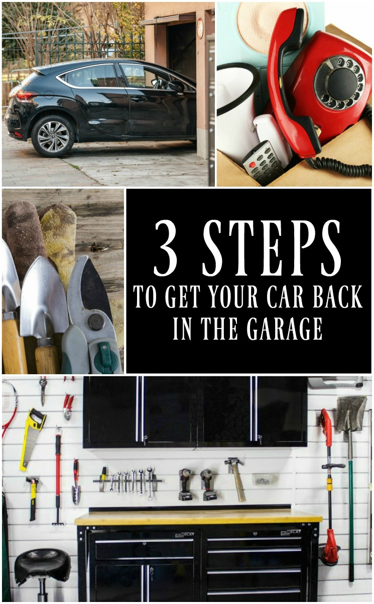 3 Steps to get your car back in the garage