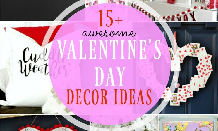 Awesome Valentine's Day Decor Ideas- Merry Monday Link Party #139