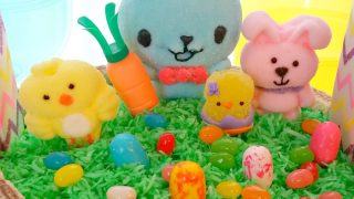 Bunny and Friends Easter Basket Cake - An Affordable Custom Cake