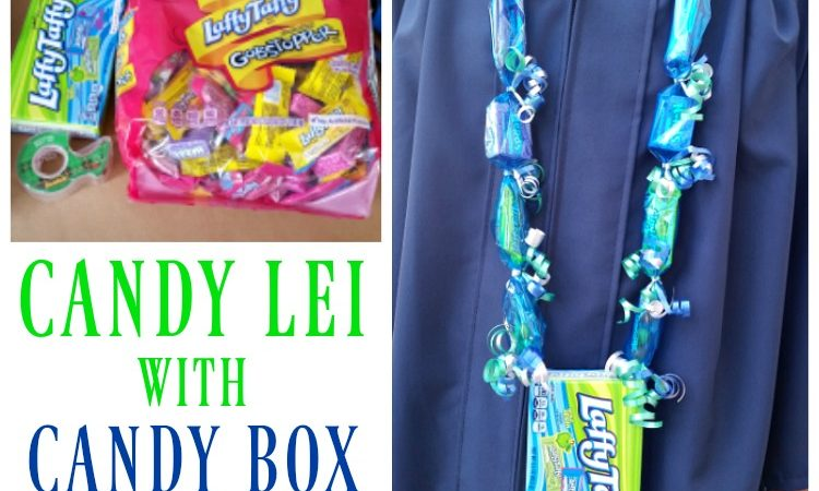 Candy Lei with Candy Box Pendant