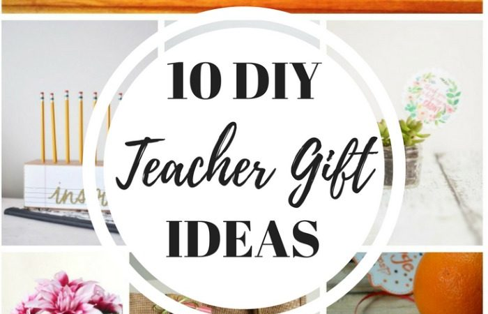 10 Simple DIY Teacher Gift Ideas