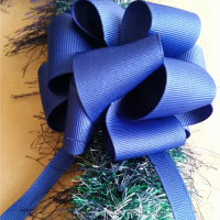 The Easiest Straw Eyelash Yarn Lei - Graduation Keepsake Gift
