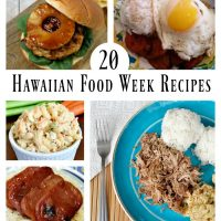 20 Hawaiian Food Week Recipes - Merry Monday Link Party #158