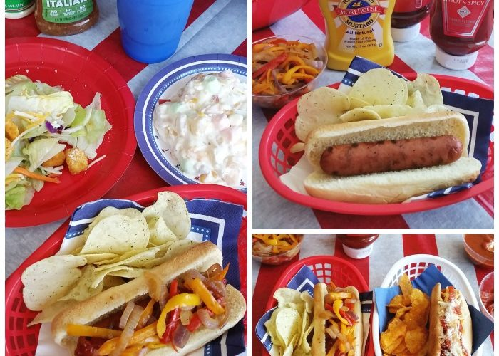 July 4th Self-Serve Hot Dog Party – Budget-Friendly Spread