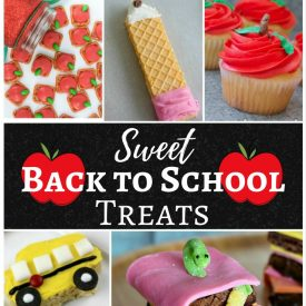 Sweet Back to School Treats – Merry Monday Link party #168