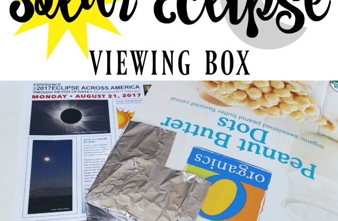 DIY Solar Eclipse Viewer Box and Viewing Safety Tips