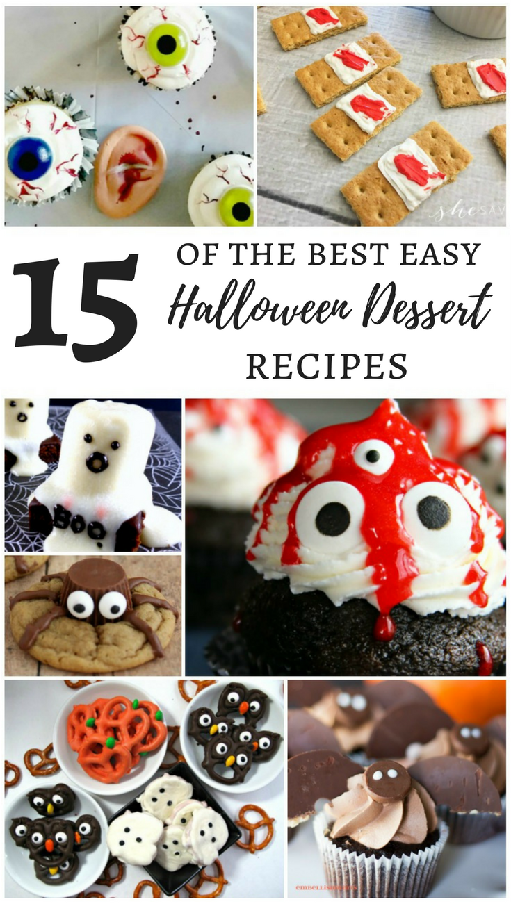 15 of the best easy halloween dessert recipes