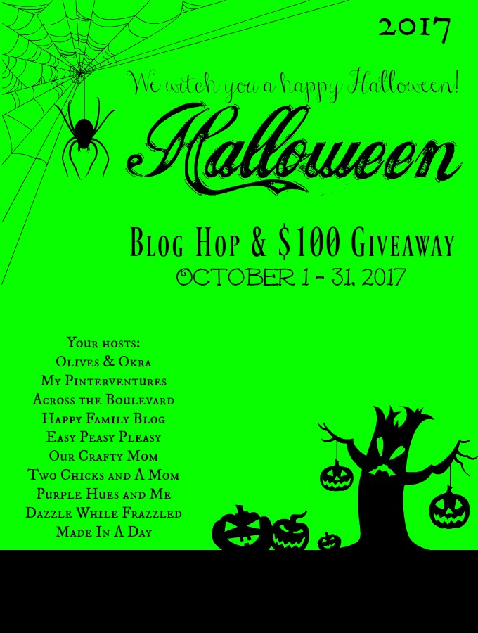 2017 Halloween Blog Hop & Giveaway
