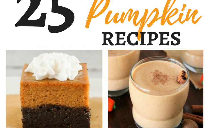 25+ Pumped-up Pumpkin Recipes – Merry Monday Link Party #172