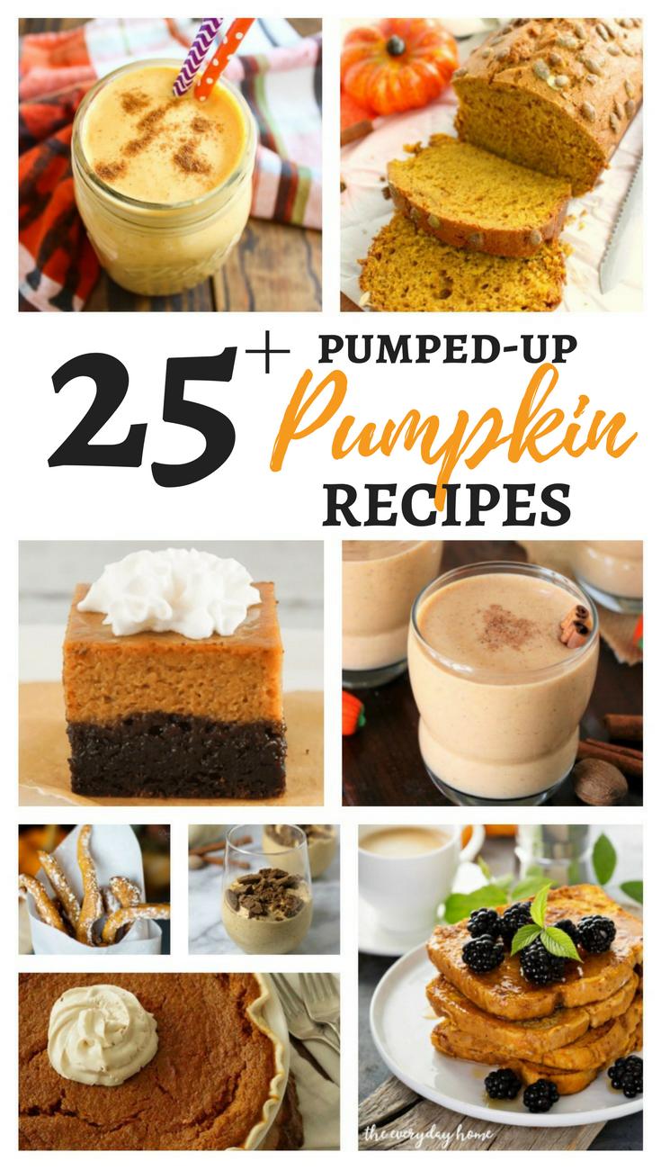 25+ Pumped-up Pumpkin Recipes