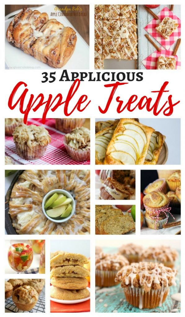 Amazing Applicious Apple Treats - cakes, bars, drinks, and more! #apples #fall #recipes
